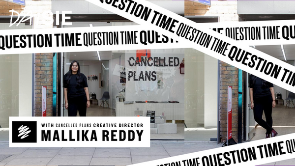 Daisie Question Time with Cancelled Plans Creative Director, Mallika Reddy!